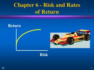 Chapter 6 - Risk and Rates  of Return
