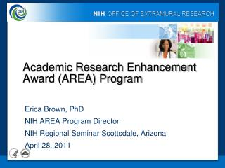 Academic Research Enhancement Award AREA Program