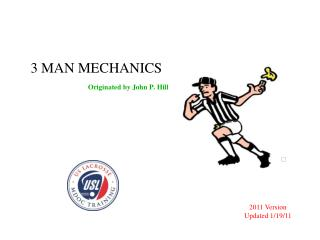 3 MAN MECHANICS Originated by John P. Hill