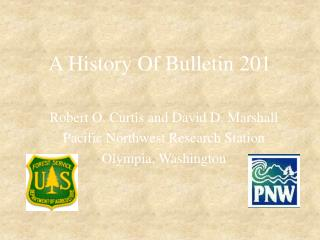 A History Of Bulletin 201