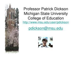 Mr. Daniel Schultz Michigan Virtual University mivu dws@msu
