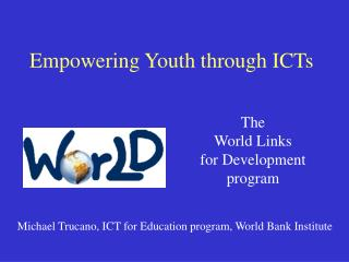 Empowering Youth through ICTs