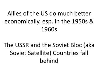 Domestic policies in the USSR fluctuate . . .