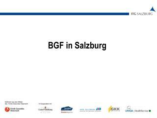 BGF in Salzburg