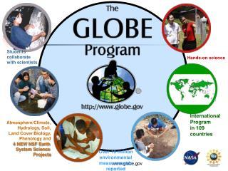 International Program in 109 countries