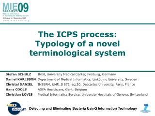 The ICPS process: Typology of a novel terminological system