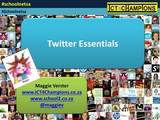 Maggie Verster ICT4Champions.co.za school2.co.za @ maggie v