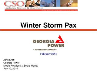 Winter Storm  Pax