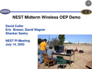 NEST Midterm Wireless OEP Demo