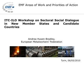 ITC-ILO Workshop on Sectoral Social Dialogue in New Member States and Candidate Countries