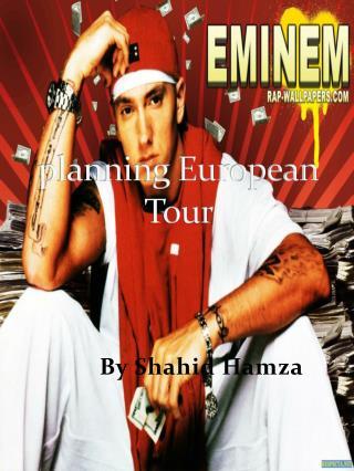 planning European Tour