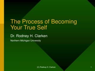 The Process of Becoming Your True Self