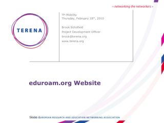 eduroam Website