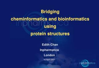 Bridging  cheminformatics and bioinformatics using  protein structures