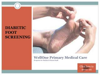 WellOne Primary Medical Care Program for Medical Clinical Staff