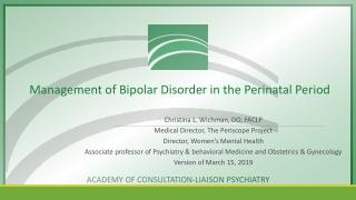 Epilepsy in Pregnancy   BY