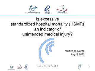 Is excessive  standardized hospital mortality (HSMR)  an indicator of  unintended medical injury?