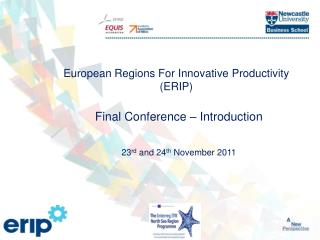 European Regions For Innovative Productivity (ERIP)