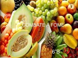 COMBATE A FOME