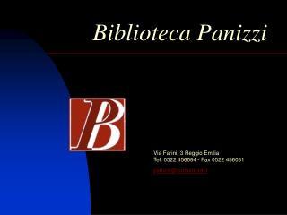 Biblioteca Panizzi