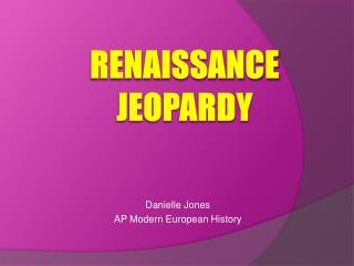 Renaissance Jeopardy