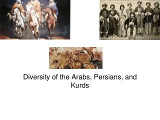 Diversity of the  Arabs , Persians, and  Kurds