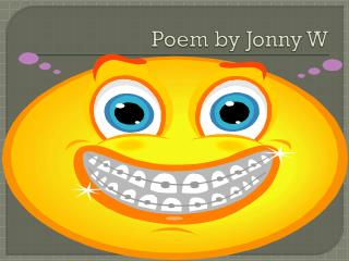 Poem by Jonny W