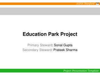 Education Park Project