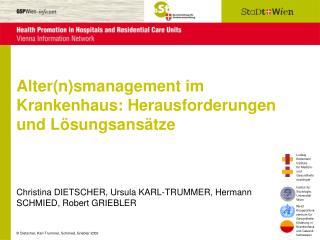 Alter(n)smanagement im Krankenhaus: Herausforderungen und Lösungsansätze