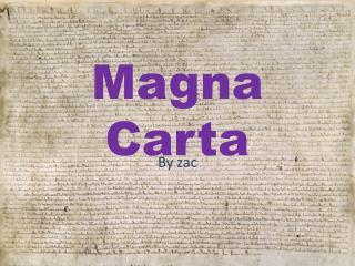 Magna  C arta