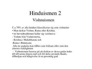 Hinduismen 2