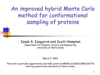 An improved hybrid Monte Carlo method for conformational sampling of proteins