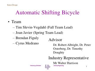 Automatic Shifting Bicycle