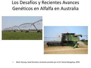 Los  Desafíos  y  Recientes Avances Genéticos  en Alfalfa en Australia