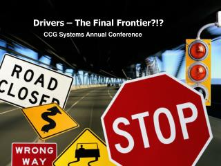 Drivers – The Final Frontier?!?