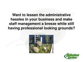 About Horticultural Services