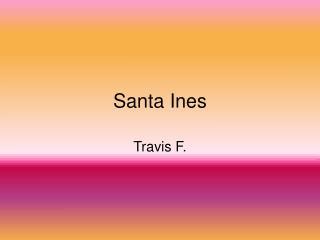 Santa Ines
