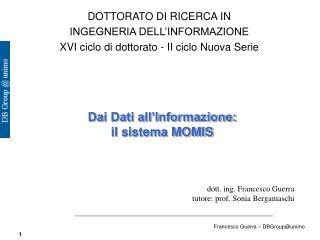 DOTTORATO DI RICERCA IN INGEGNERIA DELL'INFORMAZIONE
