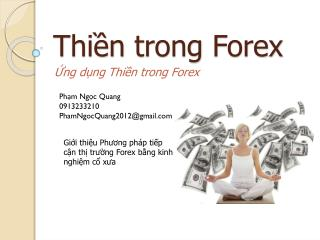 Thiền trong Forex