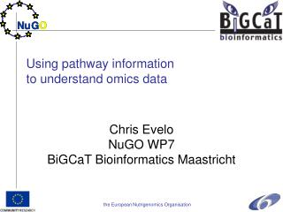 Using pathway information  to understand omics data