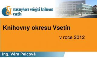 Knihovny okresu Vsetín
