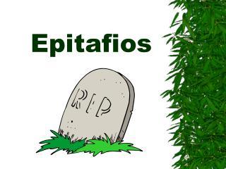 Epitafios