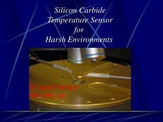 Silicon Carbide Temperature Sensor for  Harsh Environments