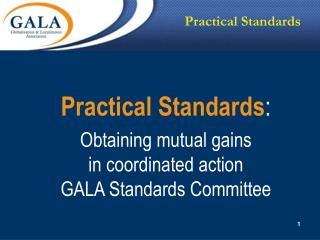 Practical Standards