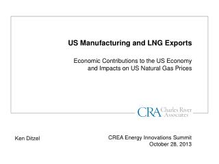 US Manufacturing and LNG Exports