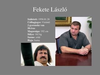 Fekete László