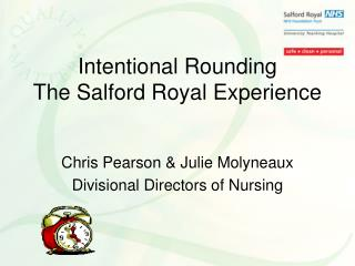 Intentional Rounding The Salford Royal Experience