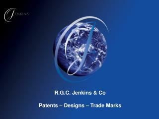 R.G.C. Jenkins  Co  Patents   Designs   Trade Marks