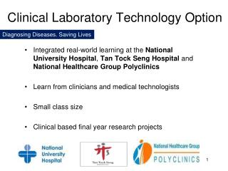 Clinical Laboratory Technology Option