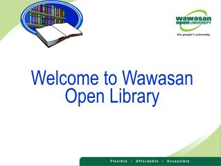 Welcome to Wawasan Open Library